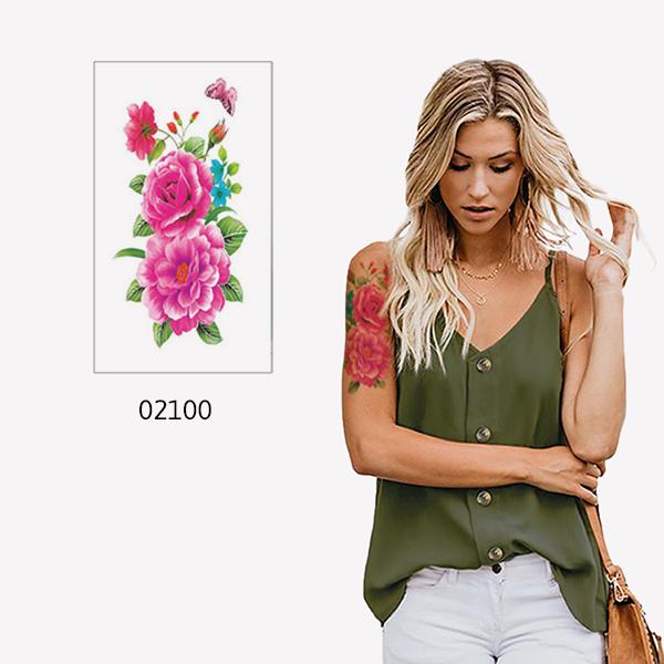 Tätoveering-02100-lilled-liblikas