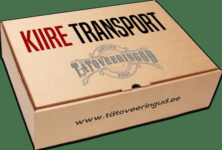 Kiire transport tellides ajutised tätoveeringud