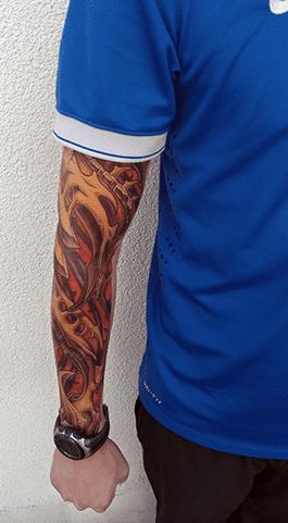 tattoo-värviline