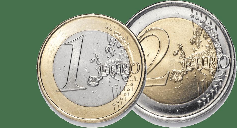 3 eurot