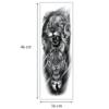 Ajutine-tätoveering-lõvi-ja-tiiger-mõõdud