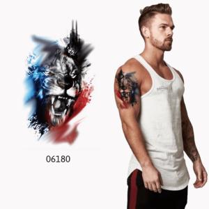 Ajutine-tattoo-06180-lõvi