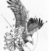 Ajutine-tattoo-kotkas