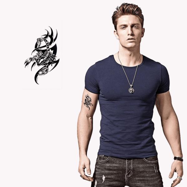 Ajutine-tattoo-skorpion-tribal-00590
