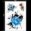 Kleeps-tattoo-sinine-roos