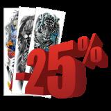 Tattood 25 % soodsamalt